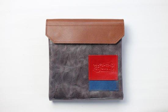 「世界にひとつだけ」のワンショルダーバッグ「赤青」