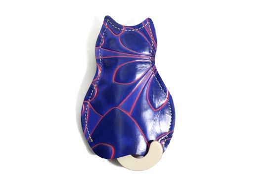 【猫グッズ】猫のうしろすがたをしたキーケース限定カラー 「アリス」クアトロガッツ