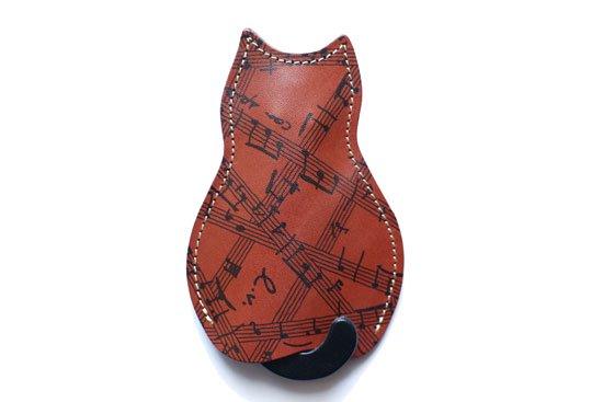 【猫グッズ】猫のうしろすがたをしたキーケース限定カラー 「Power Of Music」クアトロガッツ