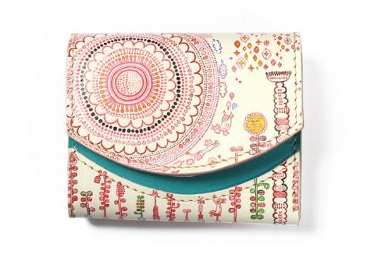 小さい財布 小さいふ。アートシリーズ「ペケーニョ おえかきさきえ(今川咲恵)」