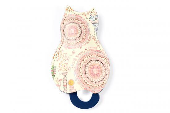【猫グッズ】猫のうしろすがたをしたキーケース 今川咲恵 × SAVVY × 大阪高島屋 × クアトロガッツ