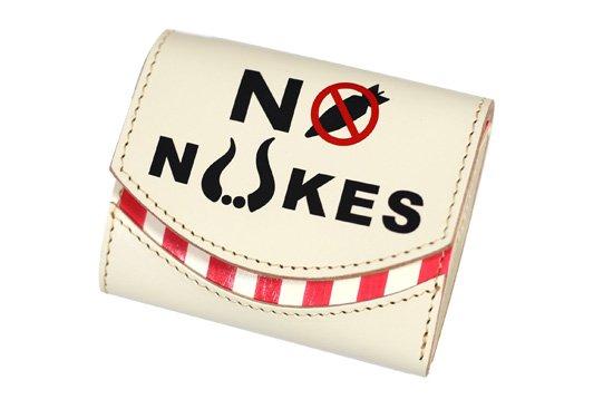 2015年8月:今月の小さいふ。 終戦70年 × NO NUKES(核廃絶)× クアトロガッツ 小さい財布 ペケーニョ