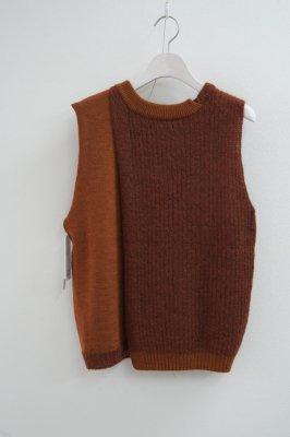 モヘヤニットベスト/Mohair knit vest