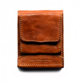 Roberu Billfold Wallet Italy Washed leather [Camel]