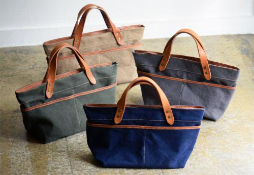 Washed canvas multi pocket Hand bag