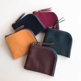 Roberu Short Zip Wallet Italy Vachetta Leather 5color<img class='new_mark_img2' src='https://img.shop-pro.jp/img/new/icons13.gif' style='border:none;display:inline;margin:0px;padding:0px;width:auto;' />