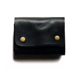 ROBERU Accordion Wallet [ Black ]