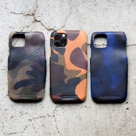 iPhone11Pro Case  Italy Camouflage Leather [iPhone11Pro Max対応]