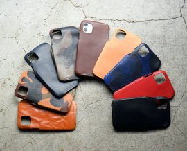 iPhone11 Case  Italy Vachetta Leather
