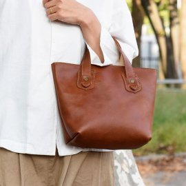 marso mini tote bag [Classic Brown]<img class='new_mark_img2' src='https://img.shop-pro.jp/img/new/icons13.gif' style='border:none;display:inline;margin:0px;padding:0px;width:auto;' />