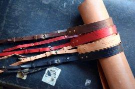 ROBERUイタリアレザーカメラストラップ Italy Vachetta Leather