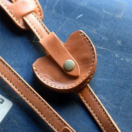 Lens cap case [ Light Camel ]