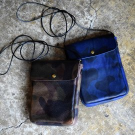 Italy Camouflage Shoulder Pouch