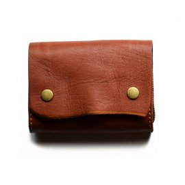 ROBERU Accordion Wallet [ Brown ]