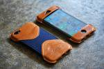 iPhone SE Case Camel Leather