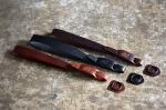 Italy Vachetta Leather Hand Strap [Red Brown,Choco,Black]