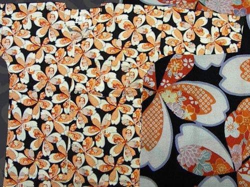 日本製の粋な鯉口シャツ 中サイズ 17-05