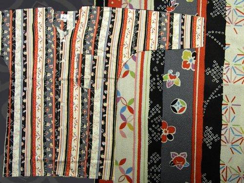 日本製の粋な鯉口シャツ 中サイズ 17-13