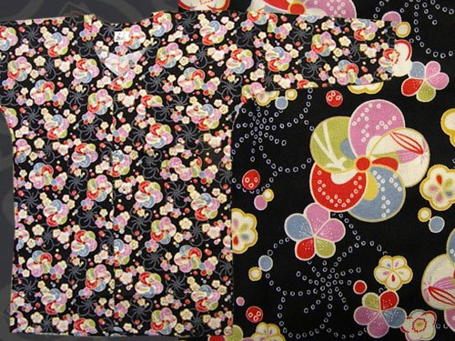 日本製の粋な鯉口シャツ 大(L)サイズ 17-09