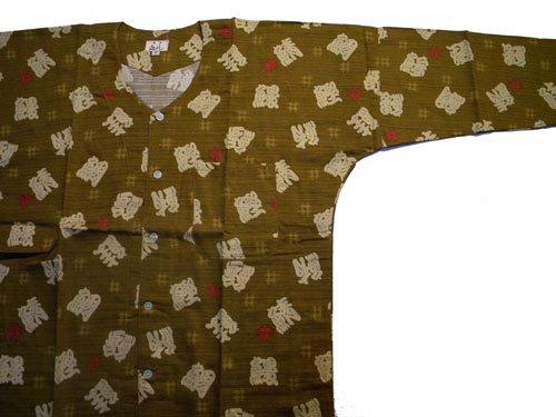 柄 鯉口シャツ 中(身長155~162cm)日本製