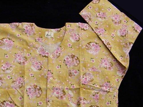鯉口シャツ(花柄) 大 日本製 40
