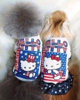 【送料無料】ヒートワン☆Otty×HELLO KITTY・アメリカンTシャツ&ワンピ☆