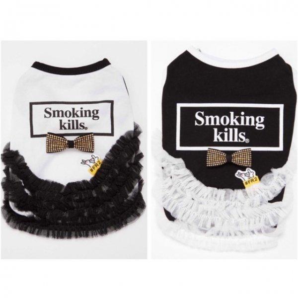 """【送料無料】☆FR2×Ottyコラボ """"Smoking Kills"""" ワンピース☆"""