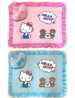 <img class='new_mark_img1' src='//img.shop-pro.jp/img/new/icons5.gif' style='border:none;display:inline;margin:0px;padding:0px;width:auto;' />Otty×HELLO KITTY・ドット柄-アゴ乗せ枕付きカフェマット*送料無料*