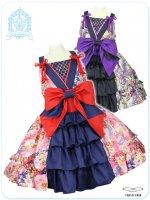大きいサイズ LVW1020濃姫の戦国月夜の乙女 夢幻の恋変化ジャンパースカート (和ロリータ コスプレ)