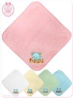 8WT001 チョコミントくまのコティちゃん刺繍のハンドタオル(ゆめかわいい ロリータ)