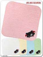 ネコミミ 9WT002T カプカプジュピリン刺繍のハンドタオル(ゴスロリ、パンク、キャラクター)