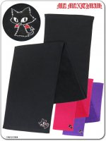 ネコミミ 9WT030 ジュピリン刺繍フェイスタオル(ゴスロリ、パンク、キャラクター)