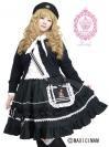 (ゆめかわいい大きいサイズ)マリンセーラーポシェットスカート LVN5002