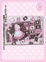 黒猫アリスのお菓子の国の不思議なお茶会マウスパッドシール 8RZ003