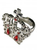 王冠モチーフ指輪(ビッグ) 88A050