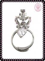 王冠モチーフ指輪(スモール) 88A054