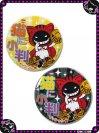ふしぎなニャンバッチ☆猫に小判(特大) 7CAN002XL