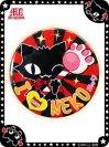 ふしぎなニャンバッチ☆I LOVE NEKO(特大) 7CAN004XL