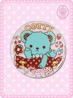 キャンディチョコミントくまのコティーちゃん缶バッチ(特大) 8CAN003XL