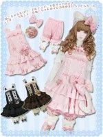 LV1022 ソルシエールねこちゃんのマジカル☆サロペットスカート (ゆめかわいい大きいサイズ・ロリィタ)