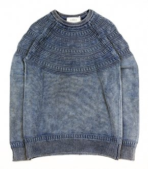 【EARLY】Indigo Knit