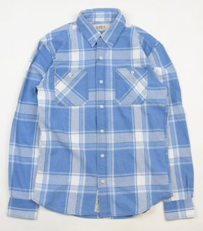 【EARLY】Indigo Dyeing Check Shirt