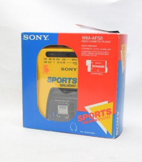 【SONY】WM-AF58 SONY SPORTS WALKMAN(箱付き)