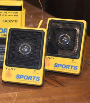 【SONY】SRS-35 SONY SPORTS ACTIVE SPEAKER SYSTEM(本体のみ)