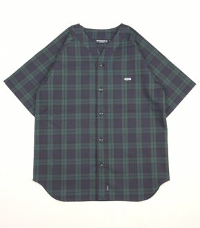 【INTERBREED】Blackwatch Baseball Shirt<img class='new_mark_img2' src='//img.shop-pro.jp/img/new/icons8.gif' style='border:none;display:inline;margin:0px;padding:0px;width:auto;' />