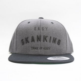 【Seen?】EASY SKANKING SNAP BACK CAP