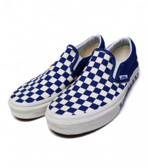 【VANS】Side Tape Chacker Slipon