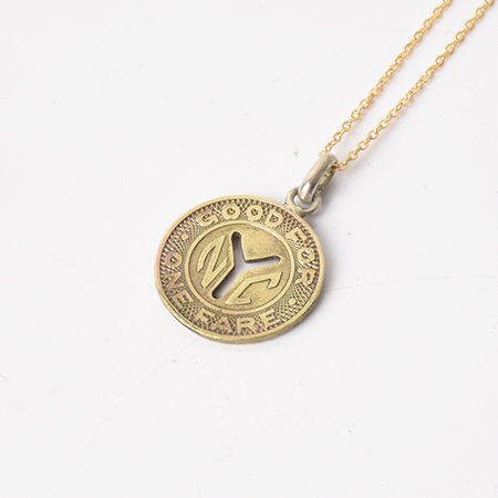 New York Underground Token Necklace(...