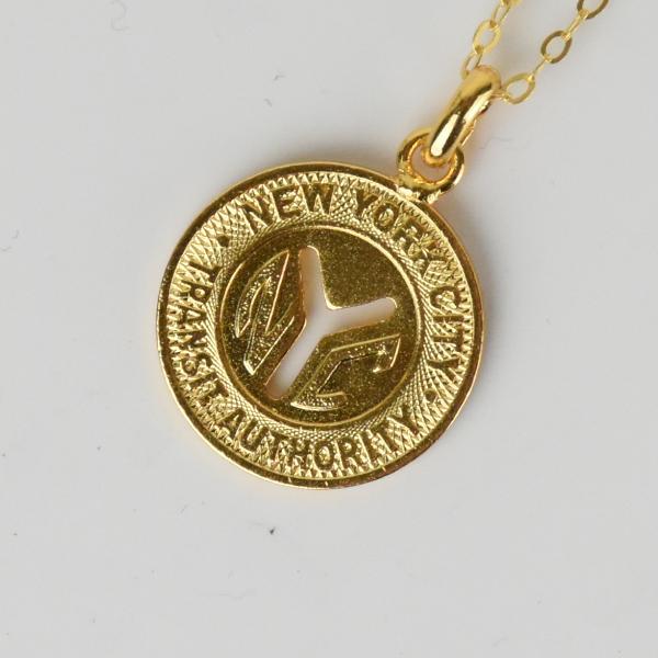 【PAYBACK】New York Underground Token Necklace