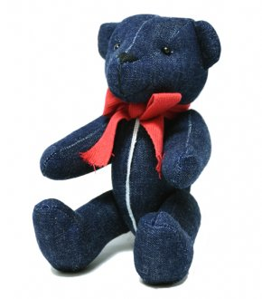 "【INTERBREED】Selvedge Supply ""Indigo Teddy Bear""